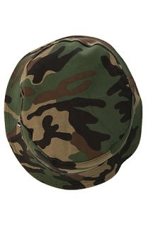 DGK Hat Universe Reversible Bucket in Camo and Black