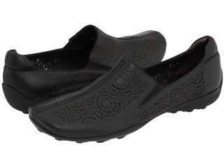 Sesto Meucci Uriana Womens Slip on Shoes (Black)