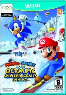 Mario & Sonic at the Sochi 2014 Olympic Winter Games   Nintendo Wii U Video Games