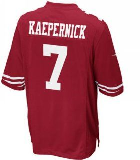 Colin Kaepernick San Francisco 49ers NFL Jersey (alphabet number is Sewn) (40) : Sports Fan Jerseys : Sports & Outdoors