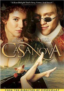 Casanova: Heath Ledger, Sienna Miller, Jeremy Irons, Oliver Platt, Lena Olin, Lasse Hallstr m, Story By Kimberly Simi And Michael Cristofer, Screenplay By Jeffrey Hatcher And Kimberly Simi: Movies & TV