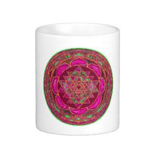 Sri Lakshmi Yantra Mandala Coffee Mugs