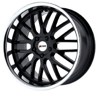 "Petrol Wheels Vengeance Gloss Black Stainless Wheel (19x8""/5x120mm) Automotive"