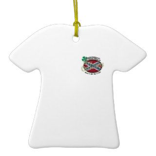 Edward's Dixie Outfitters T Shirt Ornament