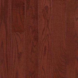 Mohawk Raymore Oak Cherry 3/4 in. Thick x 3.25 in. Wide x Random Length Solid Hardwood Flooring (17.6 sq. ft./case) HCC57 42