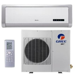 GREE High Efficiency 9,000 BTU Ductless Mini Split Air Conditioner with Heat   115V/60Hz DISCONTINUED GWH09ABA3DNA1R