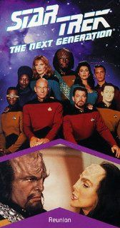 Star Trek   The Next Generation, Episode 81: Reunion [VHS]: LeVar Burton, Gates McFadden, Gabrielle Beaumont, Robert Becker, Cliff Bole, Timothy Bond, David Carson, Chip Chalmers, Richard Compton, Robert Iscove, Winrich Kolbe, Peter Lauritson, Robert Legat