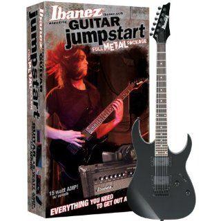 Ibanez GRG121EXJ BKN GIO Jumpstart E Gitarrenset mit Verstärker und Zubehör, schwarz: Musikinstrumente