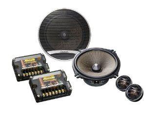 Pioneer TS E170Ci 2 Wege Komponenten Auto Lautsprecher (17 cm Wooferdurchmesser, 260 Watt): Navigation & Car HiFi