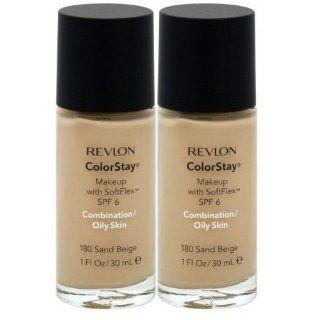 Revlon Colorstay Make Up   combination/Oily Skin 180 Sand Beige (2 Pack) Parfümerie & Kosmetik