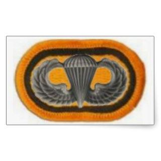 Jump Wings on 1st Sfg Oval Stickers
