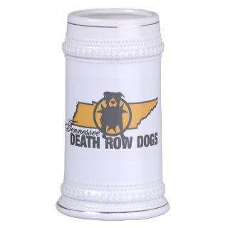 Tennessee Death Row Dogs Stein Mugs