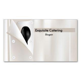 La chaqueta del cocinero plantillas de tarjetas personales de