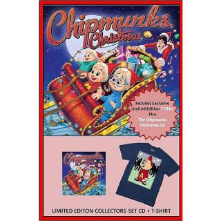 Christmas With The Chipmunks (CD + T Shirt) ( Exclusive), Alvin & The Chipmunks: Childrens Music