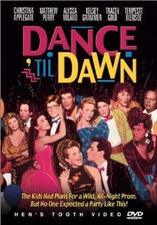 Dance 'Til Dawn: Christina Applegate, Tempestt Bledsoe, Brian Bloom, Cliff De Young, Mary Frann, Tracey Gold, Kelsey Grammer, Edie McClurg, Alyssa Milano, Matthew Perry, Alan Thicke, Chris Young, Paul Schneider, Frank Konigsberg, Jayne Bieber, Larry Sa