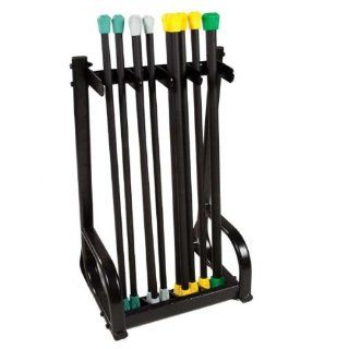 Power Systems Aerobic Bar Vertical Storage Rack  Exercise Equipment  Sports & Outdoors