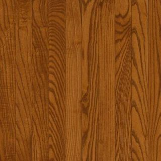 Bruce Natural Reflections Gunstock Oak 5/16 in. Thick x 2 1/4 in. Wide x Random Length Solid Hardwood Flooring 40 sq. ft./case C5011
