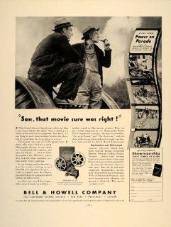 1937 Ad Bell & Howell Power on Parade Filmosound 138   Original Print Ad