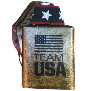 "TEAM USA 4"" Cowbell Official Licensed US Olympic Team MOEN Bells of Norway bring to the Sochi Olympic Winter Games 2014 FUN loud bell  Cheerleading Equipment  Sports & Outdoors"