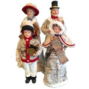 STERLING 16   22 in. Contemporary Style Caroler Family (4 Piece Set) DISCONTINUED 80913003