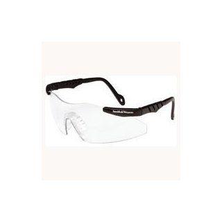 Jackson 3011672 Smith & Wesson Magnum 3G Safety Glasses, Black Frame, Clear Lens