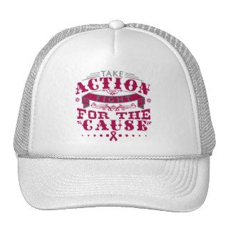 Sickle Cell Anemia Take Action Fight For The Cause Trucker Hat