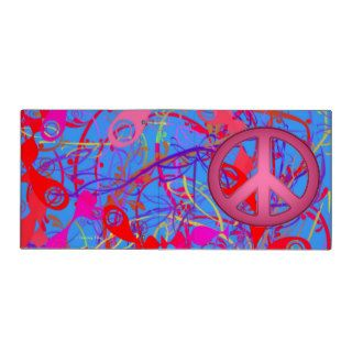 BACK TO SCHOOL   PEACE SIGNS BINDER   UNIQUE GIFTS