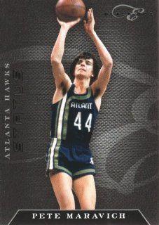 2010 11 Panini Elite Black Box Basketball #182 Pete Maravich #'d /99 Atlanta Hawks NBA Trading Card at 's Sports Collectibles Store