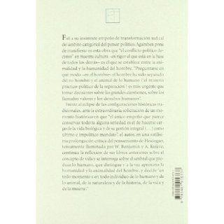 Lo abierto : el hombre y el animal: AGAMBEN GIORGO: 9788481916737: Books