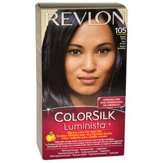 Revlon Colorsilk Luminista #105 Bright Black Hair Color Revlon Hair Color