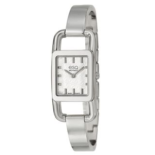 ESQ by Movado Women's 'Angle' Stainless Steel Swiss Quartz Watch ESQ by Movado Women's ESQ Watches