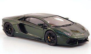 Lamborghini Aventador LP700 4, met. dark green, 2011, Model Car, Ready made, Look Smart 143 Look Smart Toys & Games