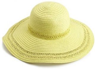 collection eighteen Women's Spring Solid Floppy Hat, Fresh Green, One Size Bucket Hats