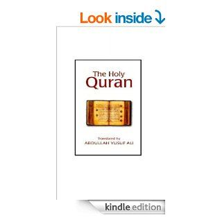 The Meanings Of The Holy Qur'an   Yusuf Ali eBook: Allah God, Abdullah  Yusuf Ali : Kindle Store