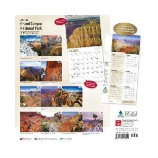 Grand Canyon National Park Calendar (Multilingual Edition) Inc Browntrout Publishers 9781465010551 Books