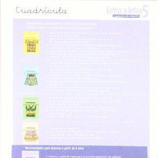Letra a letra Cuadricula / Letter by Letter Grid (Cuadernos De Caligrafia / Calligraphy Workbook) (Spanish Edition): Ramiro Cabello Sanchez: 9788421639764: Books