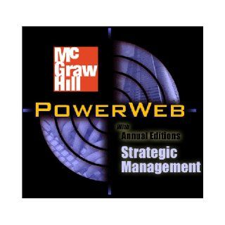 Strategic Management with PowerWeb and Case TUTOR card (Crafting & Executing Strategy  Text and Readings) Arthur A. Jr. Thompson, A. J. Strickland III 9780072493955 Books