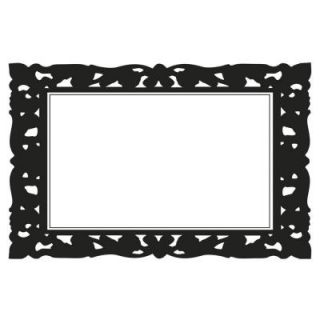 RoomMates 2.5 in. x 27 in. Ornate Frames Dry Erase Peel and Stick Wall Decals RMK2478SLM