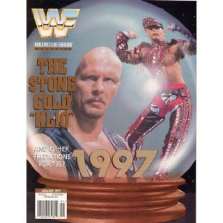 WWF Wrestling Magazine  Steve Austin and Shawn Michaels (1997) WWE Books