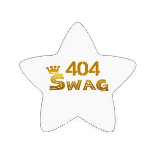 404 Georgia Swag Star Sticker