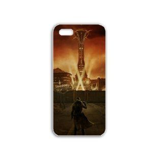 Diy Apple iPhone 5S Phone Case Personalized Gift Games Fallout Fallout New Vegas White: Cell Phones & Accessories