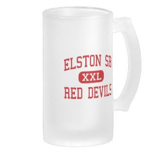 Elston Sr   Red Devils   High   Michigan City Coffee Mug