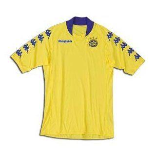Maccabi Tel Aviv 09/10 Home Soccer Jersey (Yellow)  Sports Fan Soccer Jerseys  Sports & Outdoors