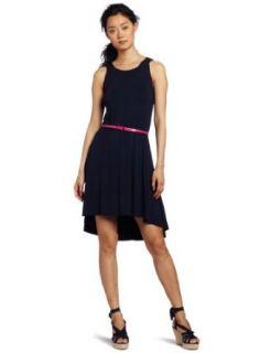Three Dots Women's Boat Neck Tank Dress, Night Iris, Large at  Women�s Clothing store: