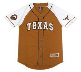 Texas Youth Grand Slam Baseball Jersey, Burnt Orange, Large  Sports Fan Baseball And Softball Jerseys  Clothing