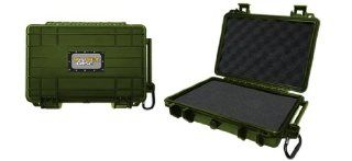 Vault Case 5 Inch Shockproof Waterproof Case Military Green Electronics