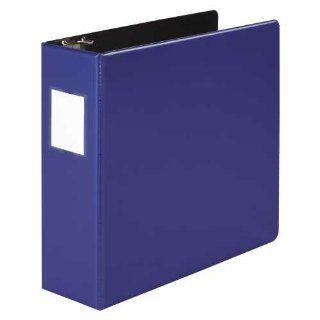 Wilson Jones Heavy Duty No Gap Round Ring Binder, 3 Inch Capacity, Letter Size, Dark Blue (W364 49NBLPP)