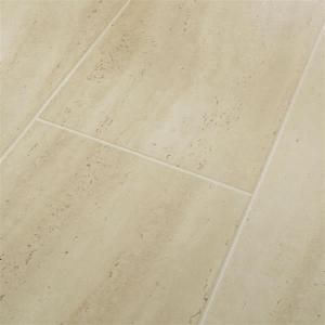 Hampton Bay Roman Tile Beige Laminate Flooring   5 in. x 7 in. Take Home Sample DISCONTINUED HB 603094