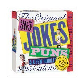 THE ORIGINAL 365 Jokes, Puns, & Riddles Box Calendar 2013   Office Desk Pad Calendars