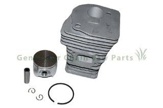 Chainsaw Husqvarna 350 351 353 346XP Engine Motor Cylinder Piston Kit Parts 44mm  Lawn And Garden Tool Replacement Parts  Patio, Lawn & Garden